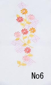 刺繍半衿No6